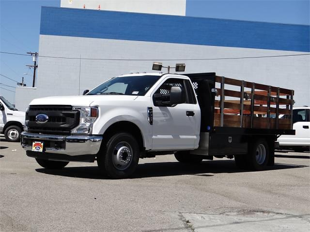 2021 Ford F-350 Regular Cab DRW 4x2, Harbor Stake Bed #g10576 - photo 1