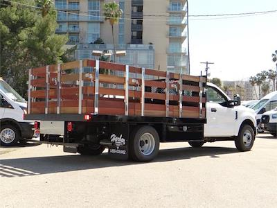 2021 Ford F-350 Regular Cab DRW 4x2, Harbor Stake Bed #g10576 - photo 2