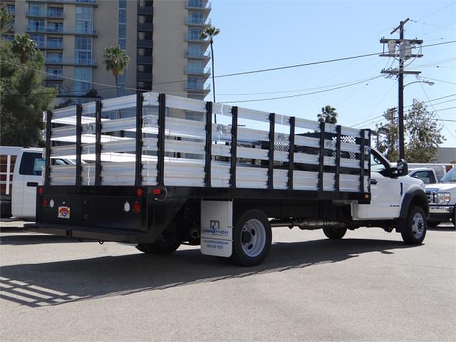 2021 Ford F-550 Regular Cab DRW 4x2, Marathon Stake Bed #G10605 - photo 1