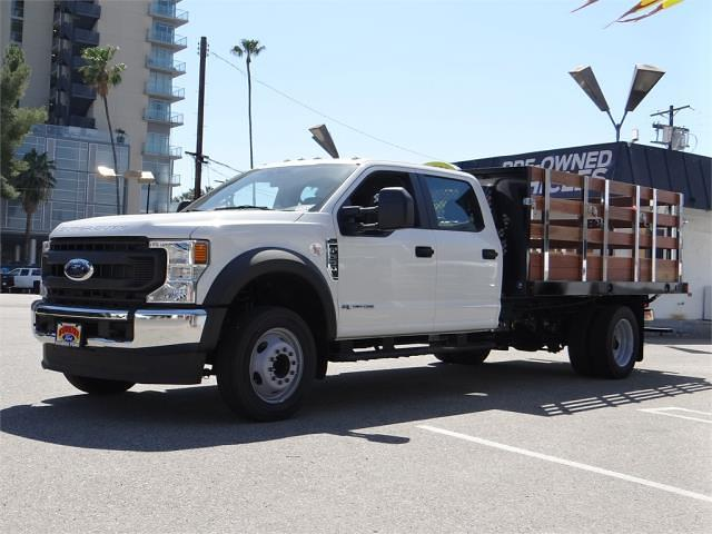 2021 Ford F-550 Crew Cab DRW 4x2, Harbor Stake Bed #G10606 - photo 1