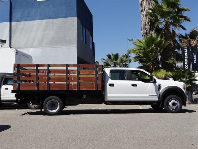2021 Ford F-550 Crew Cab DRW 4x2, Harbor Stake Bed #G10606 - photo 10