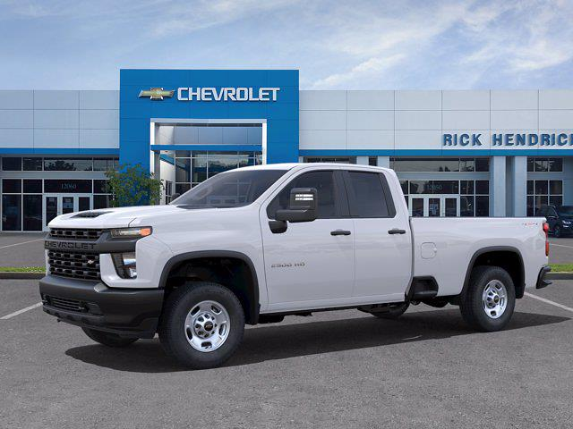 2021 Chevrolet Silverado 2500 Double Cab 4x4, Pickup #CM21757 - photo 3
