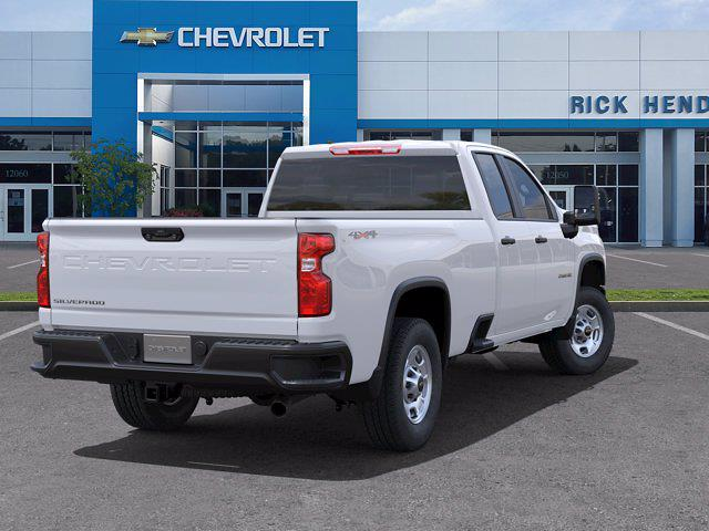 2021 Chevrolet Silverado 2500 Double Cab 4x4, Pickup #CM21757 - photo 2