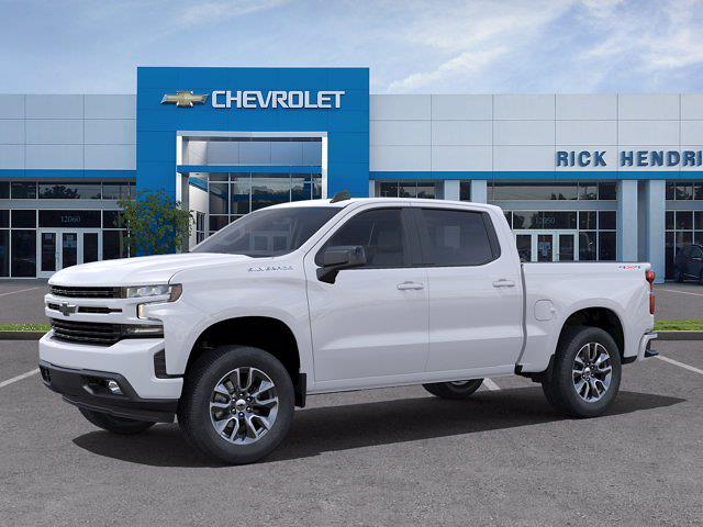 2021 Chevrolet Silverado 1500 Crew Cab 4x4, Pickup #DM21734 - photo 3