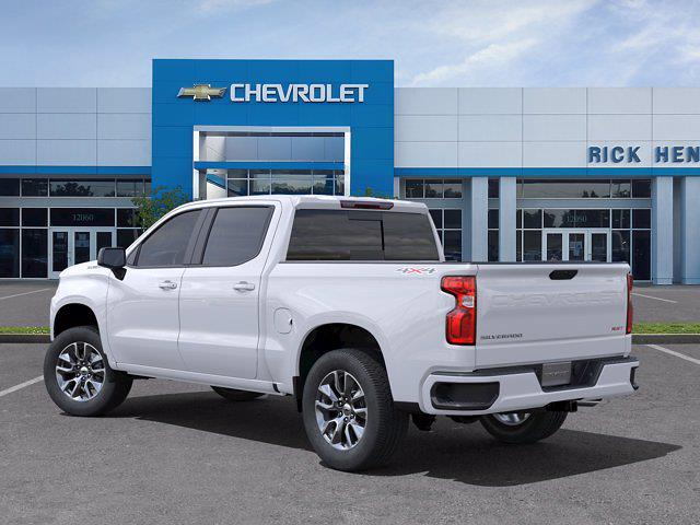 2021 Chevrolet Silverado 1500 Crew Cab 4x4, Pickup #DM21734 - photo 4