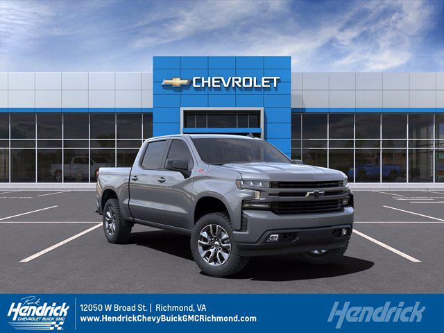 2021 Chevrolet Silverado 1500 Crew Cab 4x4, Pickup #M21372 - photo 1