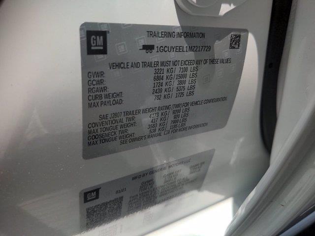 2021 Chevrolet Silverado 1500 Crew Cab 4x4, SCA Performance Black Widow Pickup #M21381 - photo 48