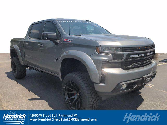 2021 Chevrolet Silverado 1500 Crew Cab 4x4, Pickup #M21392 - photo 1