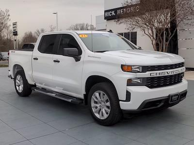 2021 Chevrolet Silverado 1500 Crew Cab 4x4, Pickup #M21590 - photo 3