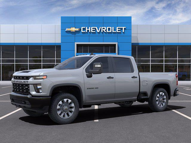 2021 Chevrolet Silverado 2500 Crew Cab 4x4, Pickup #M21625 - photo 2