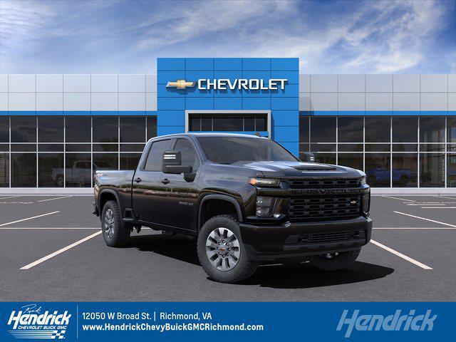 2021 Chevrolet Silverado 2500 Crew Cab 4x4, Pickup #M21629 - photo 1