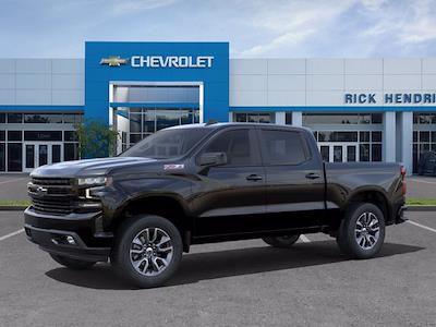 2021 Chevrolet Silverado 1500 Crew Cab 4x4, Pickup #M21657 - photo 3