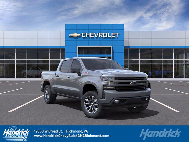 2021 Chevrolet Silverado 1500 Crew Cab 4x4, Pickup #M21670 - photo 1