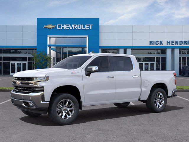 2021 Chevrolet Silverado 1500 Crew Cab 4x4, Pickup #M21716 - photo 3