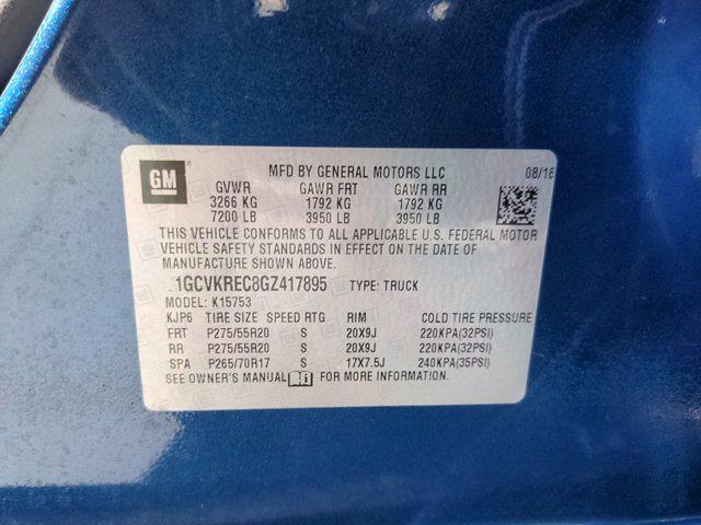2016 Silverado 1500 Double Cab 4x4,  Pickup #M22103B - photo 31