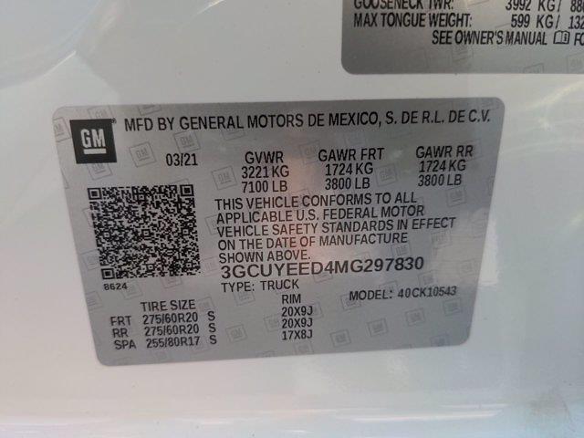 2021 Silverado 1500 Crew Cab 4x4,  Pickup #X00037A - photo 31