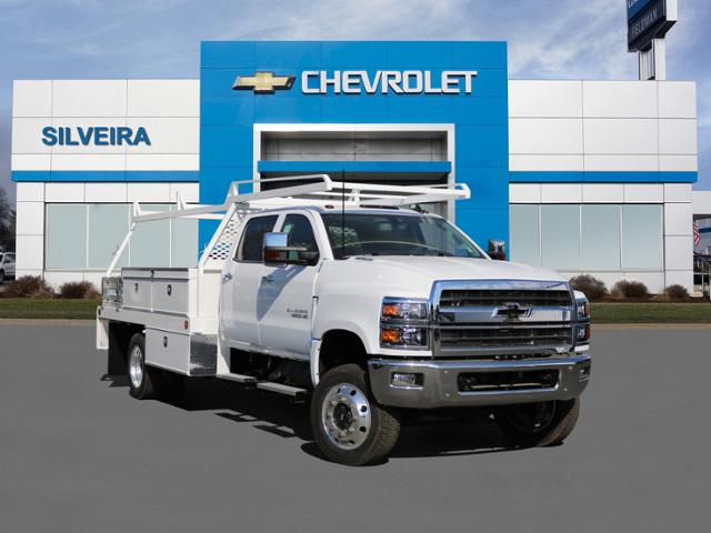 2019 Chevrolet Silverado Medium Duty Crew Cab DRW 4x4, Scelzi Contractor Body #4190487 - photo 1