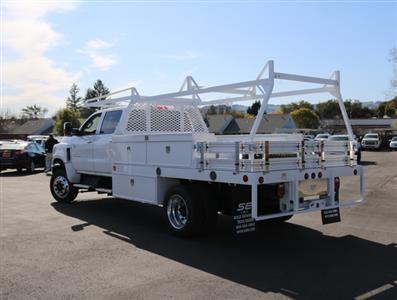 2019 Chevrolet Silverado Medium Duty Crew Cab DRW 4x4, Scelzi CTFB Contractor Body #4190487 - photo 2
