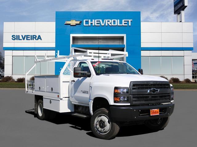 2020 Chevrolet Silverado Medium Duty Regular Cab DRW 4x4, Royal Contractor Body #4200127 - photo 1