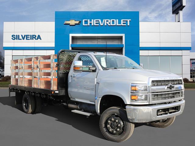 2020 Chevrolet Silverado 6500 Regular Cab DRW 4x4, Scelzi Stake Bed #4200360 - photo 1