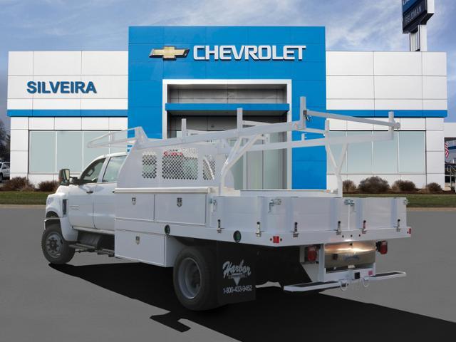 2020 Chevrolet Silverado 4500 Crew Cab DRW 4x4, Harbor Contractor Body #4200377 - photo 1