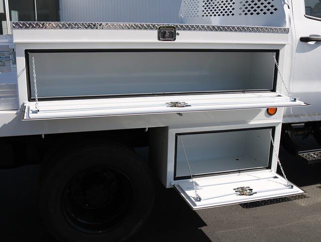 2021 Chevrolet Silverado 5500 Crew Cab DRW 4x4, Scelzi CTFB Contractor Body #4210174 - photo 4