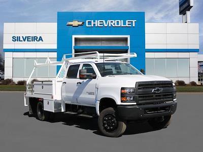 2021 Chevrolet Silverado 5500 Crew Cab DRW 4x4, Scelzi CTFB Contractor Body #4210174 - photo 1