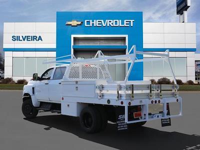 2021 Chevrolet Silverado 5500 Crew Cab DRW 4x4, Scelzi CTFB Contractor Body #4210174 - photo 2
