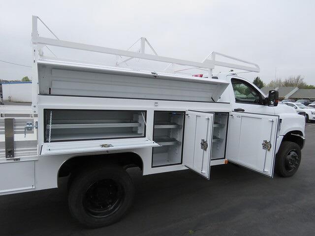 2021 Chevrolet Silverado 5500 Regular Cab DRW 4x4, Scelzi SEC Combo Body #4210183 - photo 3