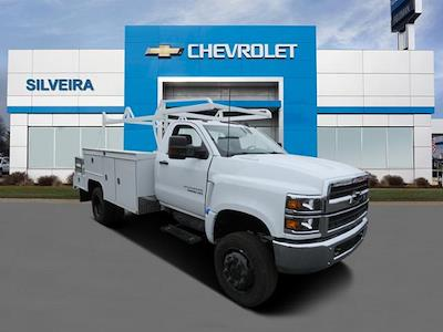 2021 Chevrolet Silverado 5500 Regular Cab DRW 4x4, Scelzi SEC Combo Body #4210183 - photo 1