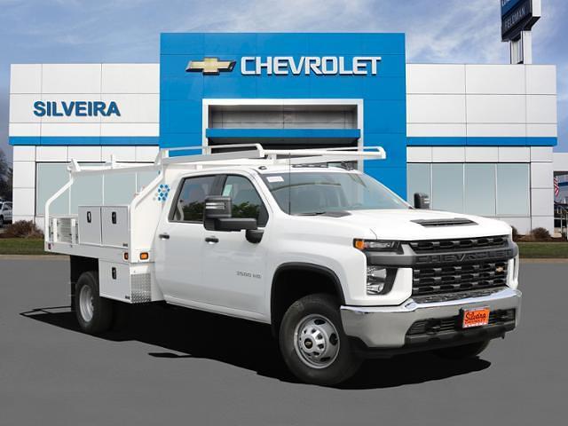 2021 Chevrolet Silverado 3500 Crew Cab 4x2, Knapheide Contractor Body #4210212 - photo 1