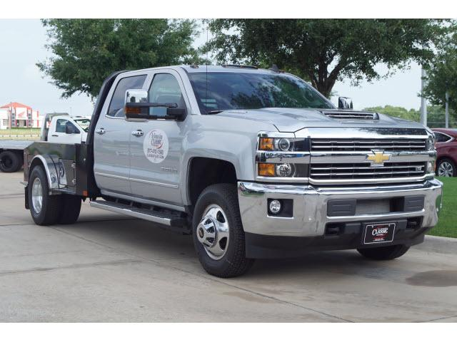 2019 Silverado 3500 Crew Cab 4x4,  CM Truck Beds Hauler Body #191439 - photo 1