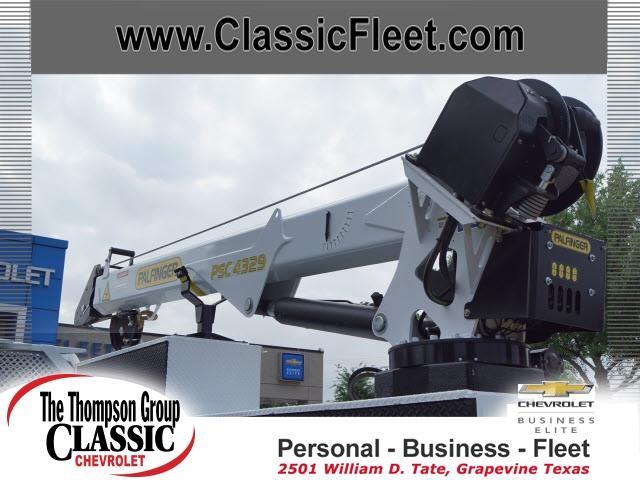 2019 Silverado Medium Duty DRW 4x2,  Palfinger PAL Pro 43 Mechanics Body #368815 - photo 6