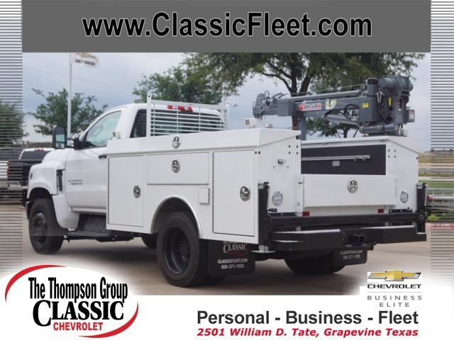 2019 Chevrolet Silverado 4500 Regular Cab DRW 4x2, RhinoPro Truck Outfitters Service Body #811372 - photo 1