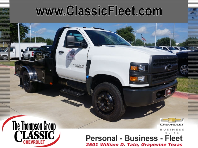 2019 Chevrolet Silverado 4500 Regular Cab DRW 4x2, CM Truck Beds ER Model Hauler Body #811373 - photo 1