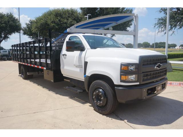 2019 Chevrolet Silverado 5500 Regular Cab DRW 4x2, Knapheide Stake Bed #863553 - photo 1