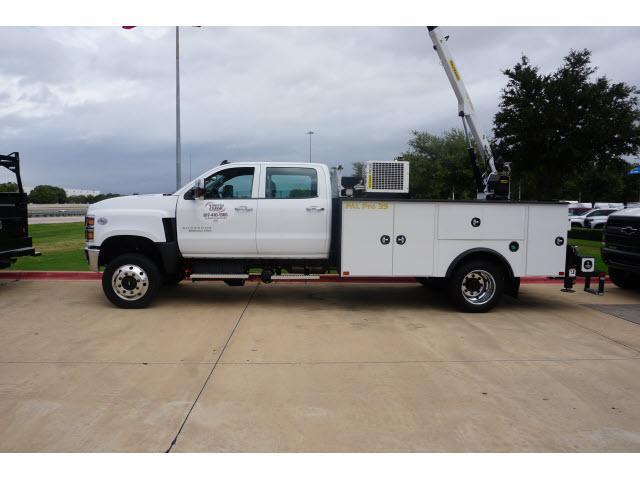 2019 Silverado 5500 Crew Cab DRW 4x4, Palfinger PAL Pro 39 Mechanics Body #885494 - photo 3