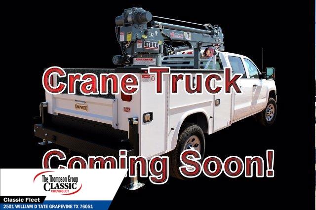 2019 Chevrolet Silverado 6500 Crew Cab DRW 4x4, Crane Body #KH131525 - photo 1