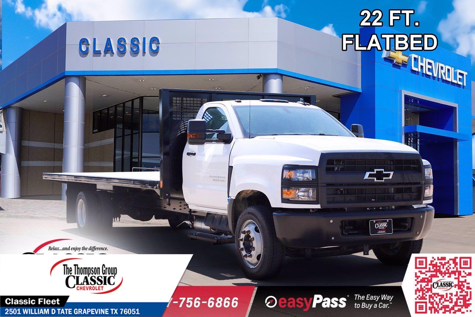 2019 Chevrolet Silverado 6500 Regular Cab DRW 4x2, CM Truck Beds Platform Body #KH133981 - photo 1