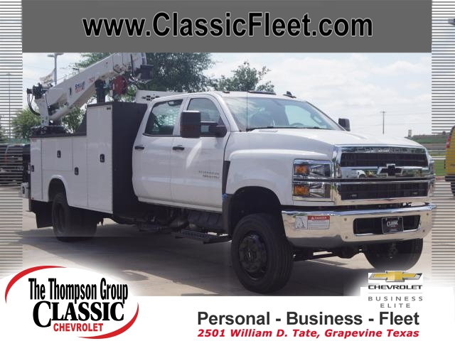 2019 Chevrolet Silverado 5500 Crew Cab DRW 4x4, Knapheide Mechanics Body #KH246759 - photo 1