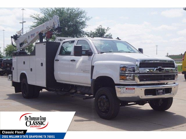2019 Chevrolet Silverado 5500 Crew Cab DRW 4x4, Knapheide KMT Mechanics Body #KH246759 - photo 1