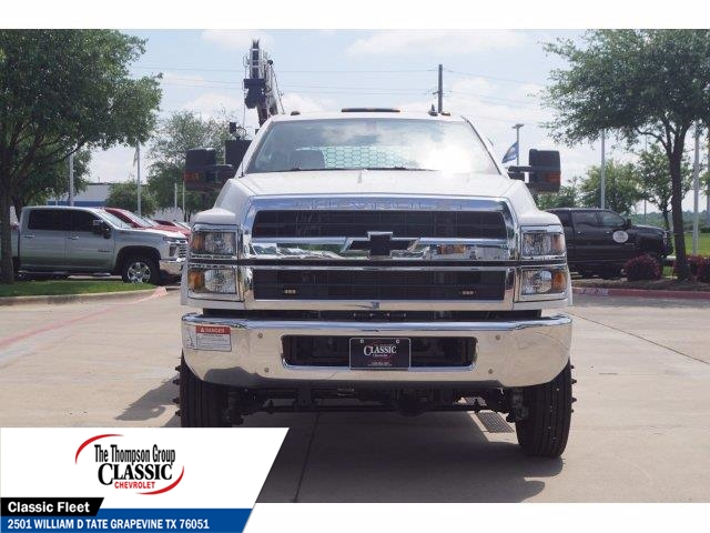 2019 Chevrolet Silverado 5500 Crew Cab DRW 4x4, Knapheide KMT Mechanics Body #KH246759 - photo 4