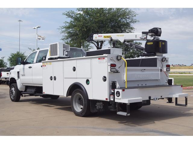 2019 Chevrolet Silverado 6500 Crew Cab DRW 4x4, Palfinger Mechanics Body #KH429740 - photo 1