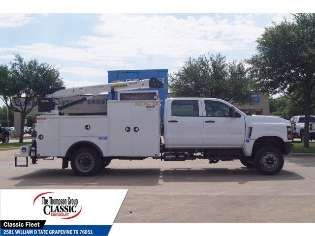 2019 Chevrolet Silverado 6500 Crew Cab DRW 4x4, Palfinger PAL Pro 39 Mechanics Body #KH429740 - photo 3