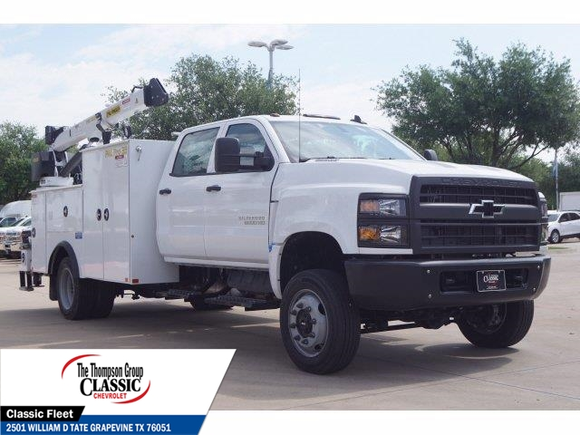 2019 Chevrolet Silverado 6500 Crew Cab DRW 4x4, Palfinger Mechanics Body #KH429740 - photo 1