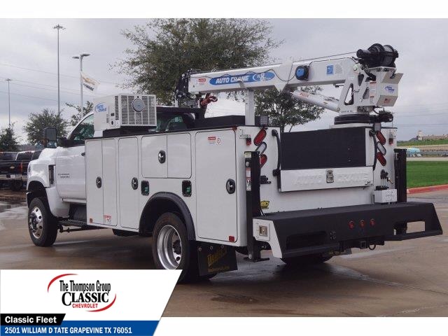 2019 Chevrolet Silverado 6500 Regular Cab DRW 4x4, Auto Crane Mechanics Body #KH805143 - photo 1