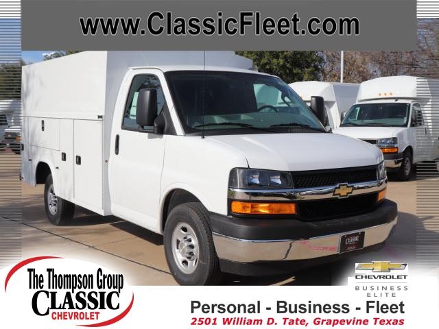 2020 Chevrolet Express 3500 RWD, Knapheide Service Utility Van #L1140691 - photo 1