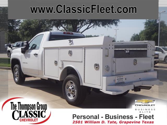 2020 Chevrolet Silverado 2500 Regular Cab RWD, CM Truck Beds Service Body #LF212541 - photo 1