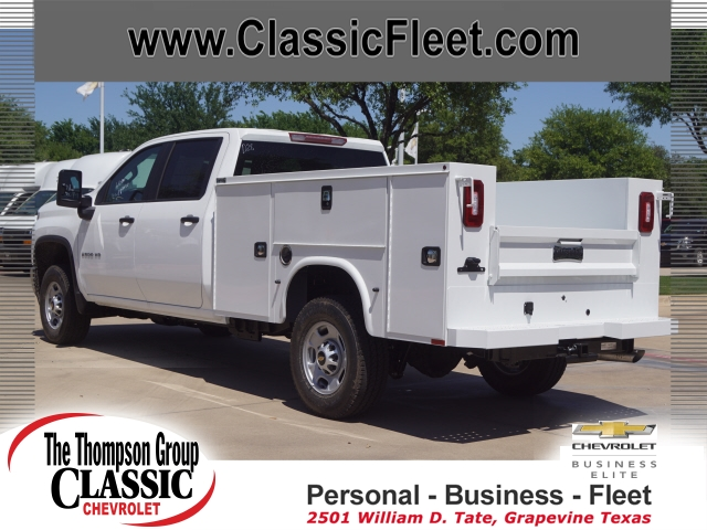 2020 Chevrolet Silverado 2500 Crew Cab 4x4, Cab Chassis #LF246490 - photo 1