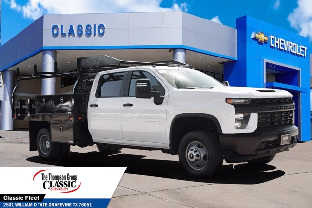 2020 Chevrolet Silverado 3500 Crew Cab DRW 4x4, Knapheide Contractor Body #LF295385 - photo 1